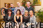 Family Christmas Party at Kerins O'Rahillys on Saturday. Pictured Front L to R Dorothy Boylan, Sharon Dennehy, Liz O'Brien, Breda Flaherty, Back l-r Claire O'Brien, Jason Kerins, James Dennehy, Tim Flaherty