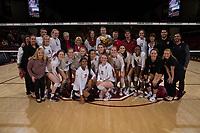 Stanford Volleyball W vs Utah, November 22, 2017