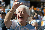 17 JUN 2010:  Argentina fan in the stands.  The Argentina National Team played the South Korea National Team at Soccer City Stadium in Johannesburg, South Africa in a 2010 FIFA World Cup Group E match.