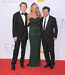 Michael J. Fox and family at The 64th Anual Primetime Emmy Awards held at Nokia Theatre L.A. Live in Los Angeles, California on September  23,2012                                                                   Copyright 2012 Hollywood Press Agency