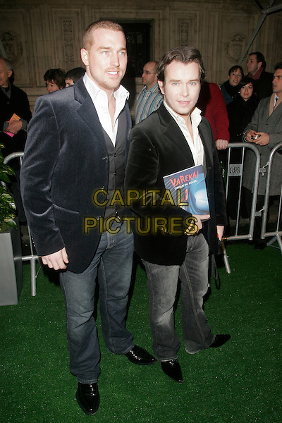 "STEPHEN GATELY & GUEST.attending the Cirque Du Soleil ""Varekai"" Premiere at the Royal Albert Hall, London, England, January 8th 2007..full length Steven black jackets couple Gatley.CAP/AH.©Adam Houghton/Capital Pictures."