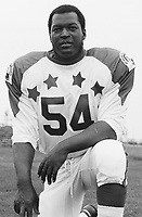 Ellison Kelly 1970 Canadian Football League Allstar team. Copyright photograph Ted Grant