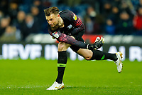 25th February 2020; The Hawthorns, West Bromwich, West Midlands, England; English Championship Football, West Bromwich Albion versus Preston North End; Goalkeeper Declan Rudd of Preston North End puts the ball back into play