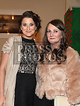 Gillian Johnson and Michelle Donnelly at the Glen Emmets dinner dance in The Glenside Hotel. Photo:Colin Bell/pressphotos.ie