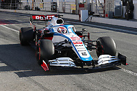 28th February 2020; Circuit De Barcelona Catalunya, Barcelona, Catalonia, Spain; Formula 1 Pre season Testing Week Two, Day 3; ROKiT Williams Racing, George Russell