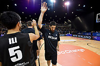 New Zealand Tall Blacks&rsquo; Jordan Ngatai, FIBA World Cup Basketball Qualifier - NZ Tall Blacks v Jordan at Horncastle Arena, Christchurch, New Zealand on Thursday 29 November  2018. <br /> Photo by Masanori Udagawa. <br /> www.photowellington.photoshelter.com