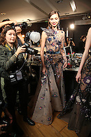 Elie Saab - Backstage<br /> Paris Haute Couture fashion week 2016<br /> Paris, France, July 06  2016.<br /> CAP/GOL<br /> &copy;GOL/Capital Pictures /MediaPunch ***NORTH AND SOUTH AMERICAS ONLY***