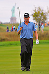 29 August 2009: Webb Simpson during the third round of The Barclays PGA Playoffs at Liberty National Golf Course in Jersey City, New Jersey.