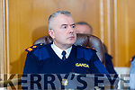 Superintendent Dan Keane at the Joint Policing Committee meeting at County Buildings, Tralee on Friday.