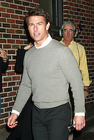 NEW YORK, NY - DECEMBER 17:  Tom Cruise at Late Show with David Letterman in New York City to discuss his new film Jack Reacher. December 17, 2012. Credit: RW/MediaPunch Inc.. /NortePhoto
