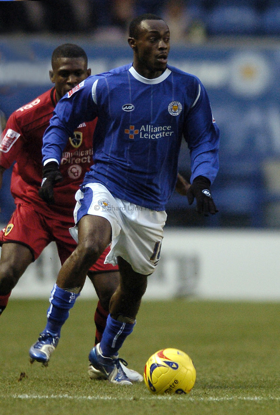 Photo: Jonathan Butler..Leicester City v Cardiff City. Coca Cola Championship. 23/12/2006..Elvis Hammond of Leicester City.