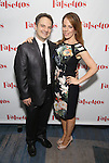 Vadim Feichtner and Leslie Kritzer attends the Opening Night After Party for 'Falsettos'  at the New York Hilton Hotel on October 27, 2016 in New York City.