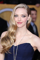 LOS ANGELES, CA - JANUARY 27: Amanda Seyfried at The 19th Annual Screen Actors Guild Awards at the Los Angeles Shrine Exposition Center in Los Angeles, California. January 27, 2013. Credit: MediaPunch Inc.
