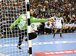 12.01.2019, Mercedes Benz Arena, Berlin, GER, Germany vs. Brazil, im Bild <br /> Andreas Wolff (GER #33)<br />      <br /> Foto &copy; nordphoto / Engler
