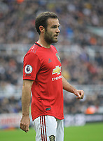 Juan Mata of Man Utd during the Premier League match between Newcastle United and Manchester United at St. James's Park, Newcastle, England on 6 October 2019. Photo by J GILL / PRiME Media Images.
