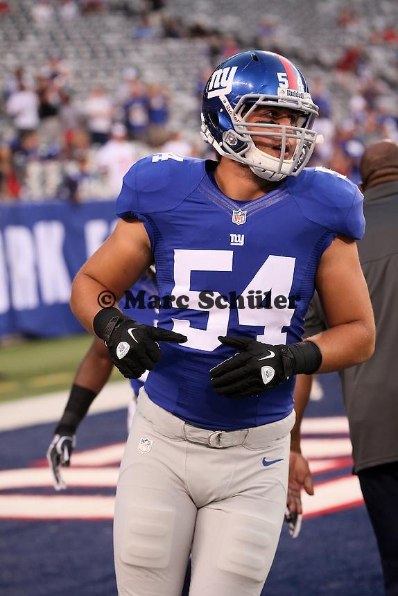 LB/DE Matt Broha (Giants)