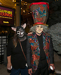 Rebecca and Lee during the Zombie Crawl held on Saturday night, October 26, 2019 in downtown Reno.
