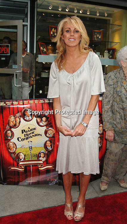"""Dina Lohan..at The New York Premiere of """"A Prairie Home Companion""""..on June 4, 2006 at The DGA Theatre. ..Robin Platzer, Twin Images"""