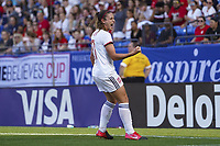 11th March 2020, Frisco, Texas, USA;  Alexia Putellas celebrates her goal for 0-1 during the 2020 SheBelieves Cup Womens International Friendly football match between England Women vs Spain Women at Toyota Stadium in Frisco