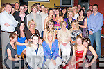 KEY TO THE DOOR: Jacinta O'Leary, Caherslee, (seated 3rd left), was given the Key to the Door when she celebrated her 21st birthday with great crowd of family and friends at Kirby's Brogue Inn on Saturday night.   Copyright Kerry's Eye 2008