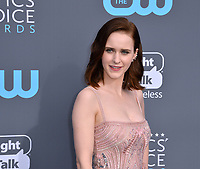 Rachel Brosnahan at the 23rd Annual Critics' Choice Awards at Barker Hangar, Santa Monica, USA 11 Jan. 2018<br /> Picture: Paul Smith/Featureflash/SilverHub 0208 004 5359 sales@silverhubmedia.com