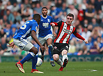 John Fleck of Sheffield Utd  during the championship match at St Andrews Stadium, Birmingham. Picture date 21st April 2018. Picture credit should read: Simon Bellis/Sportimage