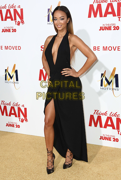 HOLLYWOOD, CA - JUNE 9: Draya Michele  attends the &quot;Think Like a Man Too&quot; Premiere at TCL Theatre in Hollywood, California on June 9, 2014.   <br /> CAP/MPI/mpi99<br /> &copy;mpi99/MediaPunch/Capital Pictures