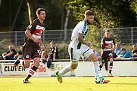 ROTINGHAUSEN - Voetbal, Sankt Pauli - FC Groningen, oefenduel, 01-09-2017, FC Groningen speler Lars Veldwijk  met Johannes Flum
