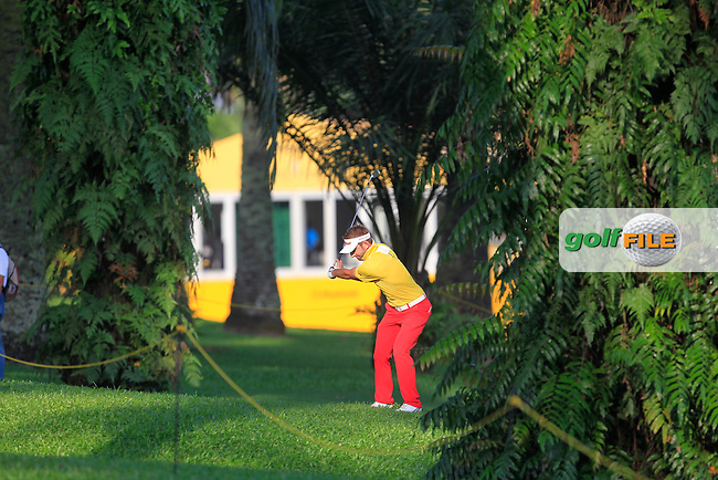 Jbe Kruger (RSA) on the 10th during Round 2 of the Maybank Championship on Friday 10th February 2017.<br /> Picture:  Thos Caffrey / Golffile<br /> <br /> All photo usage must carry mandatory copyright credit      (&copy; Golffile | Thos Caffrey)