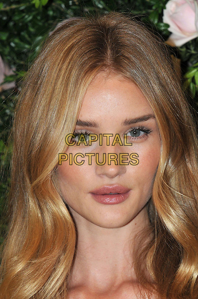 Rosie Huntington-Whiteley.launches her first ever lingerie collection for high street retailer M&S , inspired by the 1920s and her own work as an underwear model. Marks and Spencer, London, England..August 30th, 2012.headshot portrait  .CAP/BF.©Bob Fidgeon/Capital Pictures.