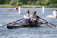 MasB.2x SF -  Berks: 209 Upper Thames RC -  Bucks: 210 Leicester RC<br /> <br /> Friday - Henley Masters Regatta 2016<br /> <br /> To purchase this photo, or to see pricing information for Prints and Downloads, click the blue 'Add to Cart' button at the top-right of the page.