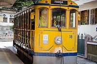 RIO DE JANEIRO,RJ, 05.01.2019 - COTIDIANO-RJ - Bondinho de Santa Tereza, a estação inicial fica proximo ao metrô Carioca, passando pelos Arcos da Lapa e finaliza em Santa Tereza,  Rio de Janeiro (05) (Foto: Vanessa Ataliba/Brazil Photo Press)