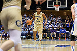 DURHAM, NC - FEBRUARY 01: Georgia Tech's Imani Tilford. The Duke University Blue Devils hosted the Georgia Tech University Yellow Jackets on February 1, 2018 at Cameron Indoor Stadium in Durham, NC in a Division I women's college basketball game. Duke won the game 77-59.