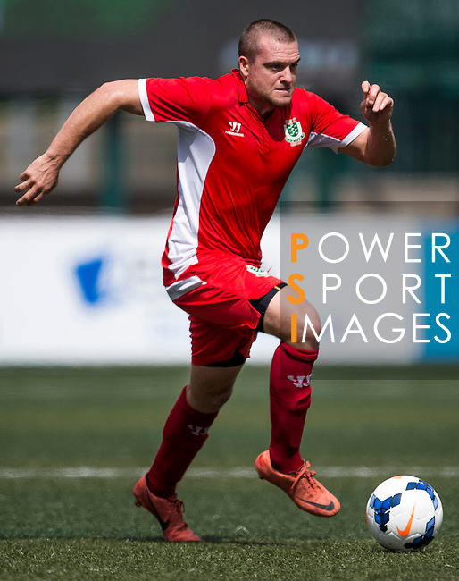 USRC vs Kowloon Cricket Club Veterans during the Day 2 of the HKFC Citibank Soccer Sevens 2014 on May 24, 2014 at the Hong Kong Football Club in Hong Kong, China. Photo by Victor Fraile / Power Sport Images
