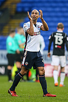 Bolton Wanderers' Karl Henry applauds the home fans at the end of the game<br /> <br /> Photographer Andrew Kearns/CameraSport<br /> <br /> The EFL Sky Bet Championship - Bolton Wanderers v Fulham - Saturday 10th February 2018 - Macron Stadium - Bolton<br /> <br /> World Copyright &copy; 2018 CameraSport. All rights reserved. 43 Linden Ave. Countesthorpe. Leicester. England. LE8 5PG - Tel: +44 (0) 116 277 4147 - admin@camerasport.com - www.camerasport.com