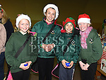Emma Dobson, Lauren Rose, Jessica Allen and Ella Heavey at the Boyne RFC Christmas Fair in the Grammar School. Photo:Colin Bell/pressphotos.ie