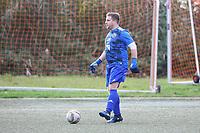 Torwart Thomas Wolf (Hoechst) - Büttelborn 31.10.2017: SKV Büttelborn vs. TSV Höchst