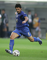 Gennaro Gattuso.  Italy defeated Germany, 2-0, in overtime in their FIFA World Cup semifinal match at FIFA World Cup Stadium in Dortmund, Germany, July 4, 2006.