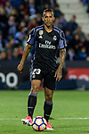 Danilo Luiz da Silva of Real Madrid during the match of  La Liga between Club Deportivo Leganes and Real Madrid at Butarque Stadium  in Leganes, Spain. April 05, 2017. (ALTERPHOTOS / Rodrigo Jimenez)