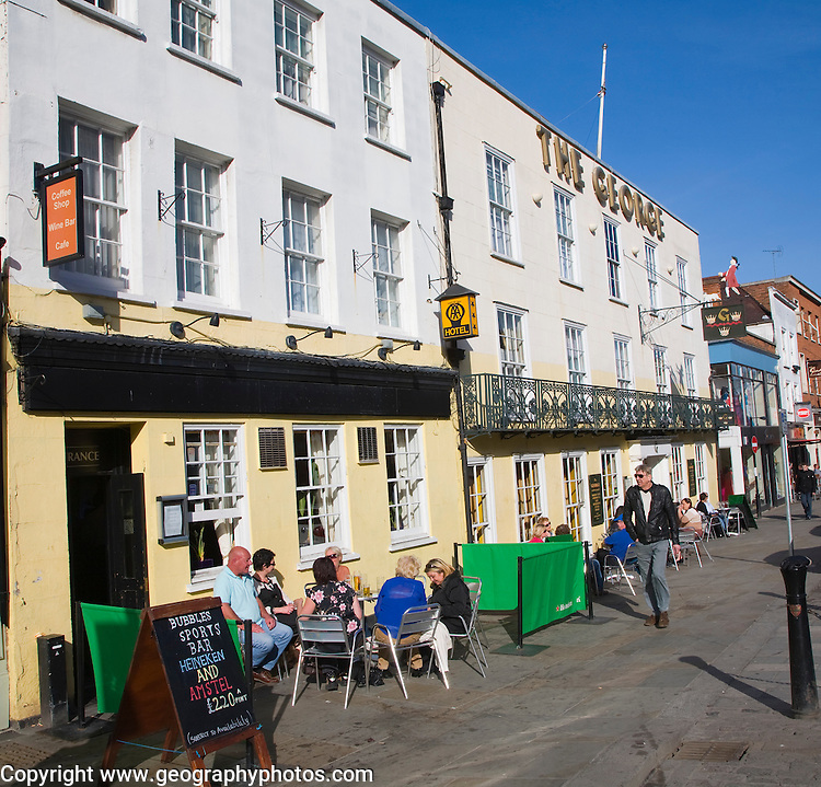 The George town centre hotel pub, Colchester, Essex, England