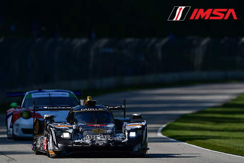 IMSA WeatherTech SportsCar Championship<br /> Continental Tire Road Race Showcase<br /> Road America, Elkhart Lake, WI USA<br /> Saturday 5 August 2017<br /> 5, Cadillac DPi, P, Joao Barbosa, Christian Fittipaldi<br /> World Copyright: Peter Burke<br /> LAT Images