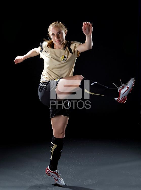 Rachel Bueler, WPS promotional photo shoot, 2009.