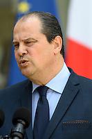 Paris (75),Le President de la Republique, Franeois HOLLANDE, recoit samedi 25 juin 2016 les representants des partis politiques francais au Palais de l Elysee. Parti Socialiste Jean-Christophe CAMBADELIS