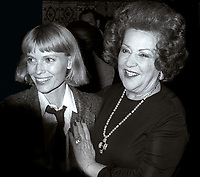 Mia Farrow Ethel Merman 1979<br /> Photo By John Barrett/PHOTOlink