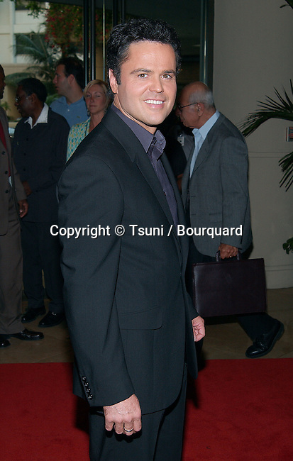 Donny Osmond arriving at the 4th Annual Family Television Awards at the Beverly Hilton in Beverly Hills, Los Angeles. July 31, 2002.           -            OsmondDonny02.jpg