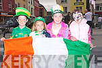 OLA: Ola Ola as the goal goes in for Ireland, by Billy Stack (Lixnaw), Saoirse Kerins (Tralee), Roisin Stack (Lixnaw) and Eimly Keoghan (Tralee).....