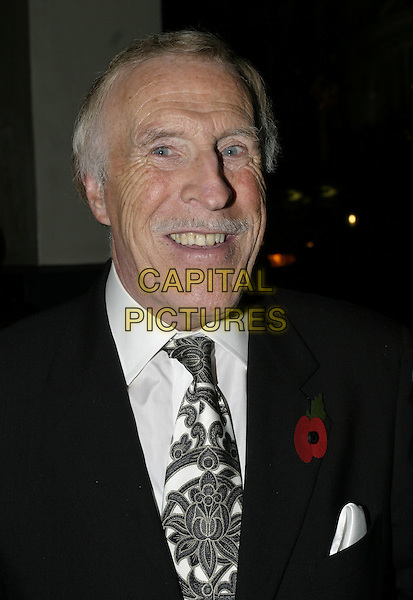 "BRUCE FORSYTHE.UK premiere of new musical ""The Producers"", Theatre Royal, Drury Lane, London, 9th November 2004..portrait headshot.Ref: AH.www.capitalpictures.com.sales@capitalpictures.com.©Capital Pictures."