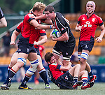 Hong Kong vs Canada during the Day 4 of the IRB Junior World Rugby Trophy 2014 at the Hong Kong Football Club on April 15, 2014 in Hong Kong, China. Photo by Xaume Olleros / Power Sport Images