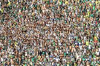 SAO PAULO, SP, 21.09.2013 - CAMP. BRASILEIRO B - PALMEIRAS X SPORT - Torcedores do Palmeiras durante partida contra o Sport jogo valido pela 24 rodada do Campeonato Brasileiro B, no Estadio Paulo Machado de Carvalho, Pacaembu na tarde deste sabado, 21. (Foto: William Volcov / Brazil Photo Press).