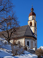 Pfarrkirche von Tarrenz, Gurgltal, Bezirk Imst, Tirol, Österreich, Europa<br /> parish church of Tarrenz, district Imst, Tyrol, Austria, Europe